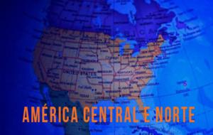 Lugares Pela América Central e Norte