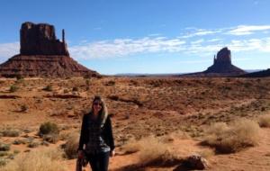 Minha primeira viagem aos EUA foi para o oeste americano