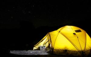 Que tal acampar no feriado?