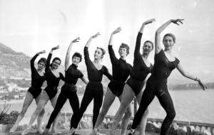Galeria de fotos de Mônaco da década de 1950