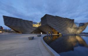 Novo cartão-postal mundial, V&A Dundee inspira viajantes em roteiro pela Escócia