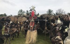 Festival do Crocodilo na Papua Nova Guiné