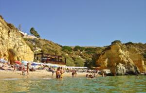5 praias do Barlavento Algarvio em Portugal