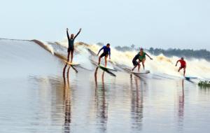 Conheça a pororoca, a onda mais famosa do Brasil