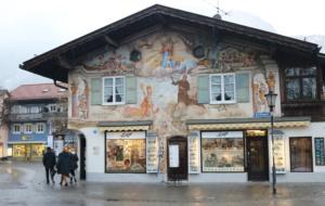 Lüftlmalerei : As paredes que contam historias