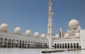 Locais sagrados pelo Mundo: Mesquita Sheikh Zayed