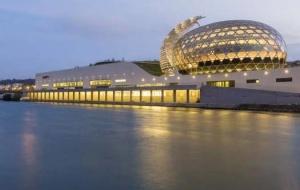 A magia do La Seine Musicale