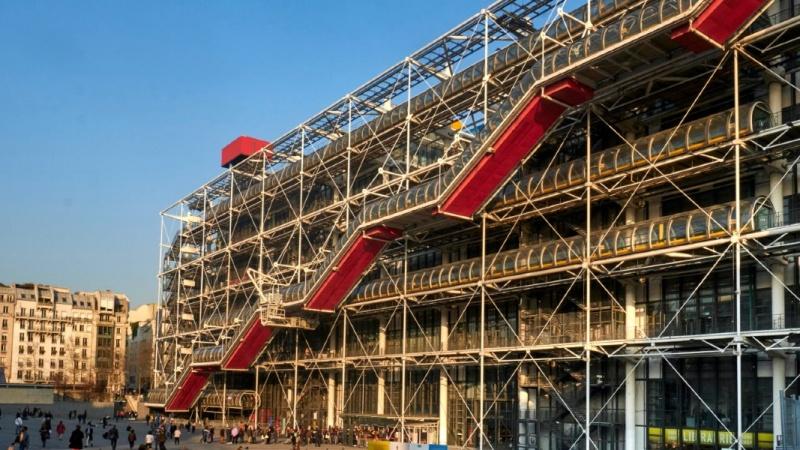 Centre Pompidou reabre pós-pandemia em Paris