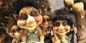 A lenda dos trolls da Noruega